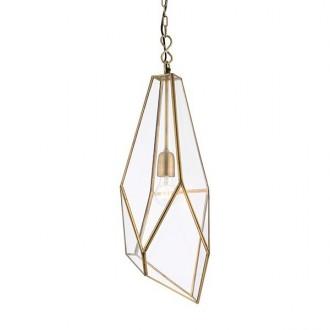 ENDON 73117 | Avery-EN Endon visilice svjetiljka 1x E27 antik bakar, prozirno