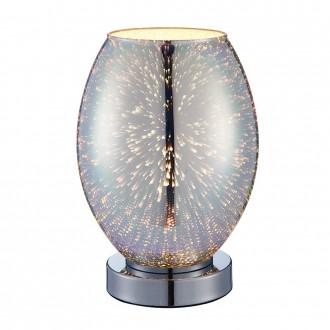 ENDON 74940 | Stellar Endon stolna svjetiljka 24cm sa dodirnim prekidačem 1x E14 krom