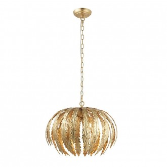 ENDON 76360 | Delphine Endon visilice svjetiljka 3x E14 zlatno