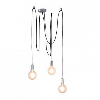 ENDON 76576 | Studio-EN Endon visilice svjetiljka s podešavanjem visine 3x E27 krom