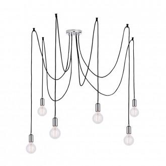 ENDON 76577 | Studio-EN Endon visilice svjetiljka s podešavanjem visine 6x E27 krom