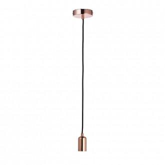 ENDON 76578 | Studio-EN Endon visilice svjetiljka s podešavanjem visine 1x E27 crveni bakar