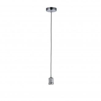 ENDON 76584 | Cambourne Endon visilice svjetiljka s podešavanjem visine 1x E27 krom