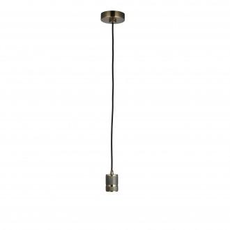ENDON 76587 | Urban-EN Endon visilice svjetiljka s podešavanjem visine 1x E27 antik bakar