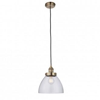 ENDON 77272   Hansen Endon visilice svjetiljka s podešavanjem visine 1x E27 antik bakar, prozirno