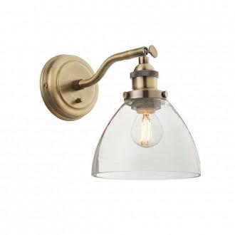 ENDON 77273   Hansen Endon zidna svjetiljka s prekidačem 1x E14 antik bakar, prozirno