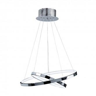 ENDON KLINE-2CH | Kline Endon visilice svjetiljka 2x LED 1740lm 3000K krom, acidni