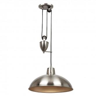 ENDON POLKA-SN | Polka-EN Endon visilice svjetiljka balansna - ravnotežna, sa visinskim podešavanjem 1x E27 satenski nikal