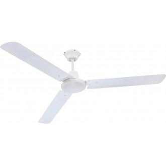 GLOBO 0310 | Ferro Globo stropne svjetiljke ventilator s impulsnim prekidačem bijelo