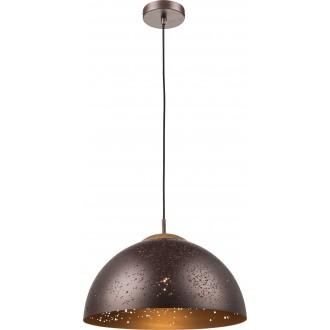 GLOBO 15000 | Tamor Globo visilice svjetiljka 1x E27 bronca, drvo