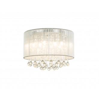 GLOBO 15094D | Sierra Globo stropne svjetiljke svjetiljka 8x G9 2240lm 3000K krom, bijelo, prozirno