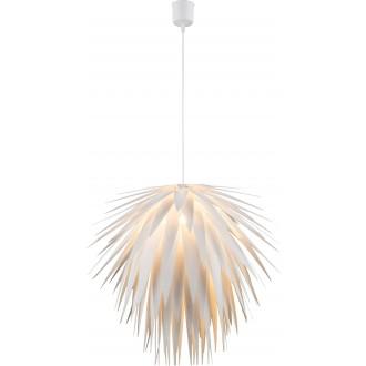 GLOBO 15114 | Nala Globo visilice svjetiljka 1x E27 bijelo
