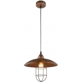 GLOBO 15126 | Kova Globo visilice svjetiljka 1x E27