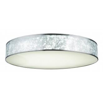 GLOBO 15188D5 | Amy-I Globo stropne svjetiljke svjetiljka daljinski upravljač jačina svjetlosti se može podešavati, sa podešavanjem temperature boje 1x LED 7000lm 3000 - 4500 - 6000K bijelo, srebrno, saten