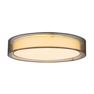 GLOBO 15190D4 | Theo Globo stropne svjetiljke svjetiljka daljinski upravljač jačina svjetlosti se može podešavati, sa podešavanjem temperature boje 1x LED 5000lm 3000 - 4500 - 6000K bijelo, sivo, bijelo