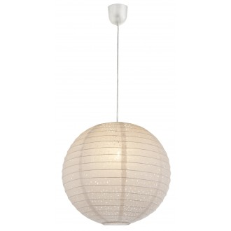 GLOBO 16910 | Varys Globo visilice svjetiljka 1x E27 bijelo