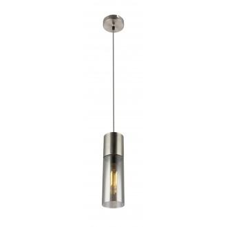 GLOBO 21000HN | Annikag Globo visilice svjetiljka 1x E27 poniklano mat, dim
