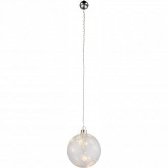 GLOBO 23235 | Kreta-I Globo dekoracija svjetiljka s prekidačem 6x LED prozirno