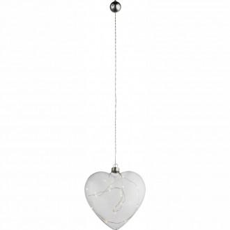 GLOBO 23236 | Kreta-I Globo dekoracija svjetiljka s prekidačem 15x LED prozirno