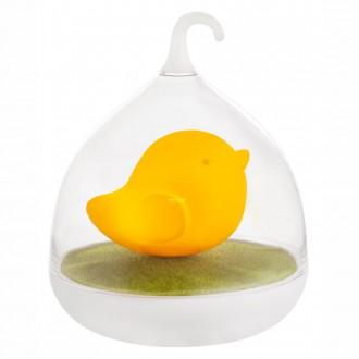GLOBO 28038O | Ampato Globo stolna svjetiljka 17cm sa tiristorski dodirnim prekidačem jačina svjetlosti se može podešavati, USB utikač 4x LED narančasto, bijelo, zeleno