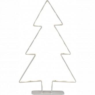 GLOBO 28212 | Claus Globo dekoracija svjetiljka s prekidačem 30x LED bijelo