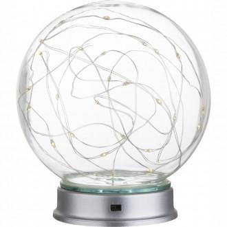 GLOBO 29934 | Cosila Globo dekoracija svjetiljka s prekidačem 30x LED prozirno