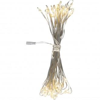 GLOBO 29950-50 | Venuto-V Globo dekoracija svjetiljka s prekidačem 50x LED bijelo