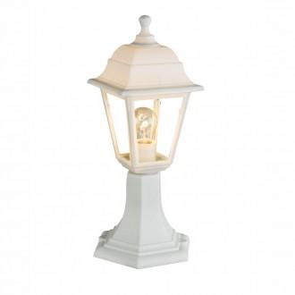 GLOBO 31877 | Luca Globo podna svjetiljka 40,5cm 1x E27 IP44 bijelo, prozirno