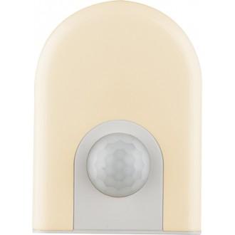 GLOBO 31931 | Enio-I Globo noćno svjetlo svjetiljka sa senzorom, svjetlosni senzor - sumračni prekidač utična svjetiljka 6x LED 10lm 3000K bijelo