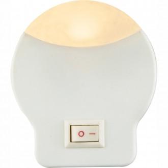 GLOBO 31932 | Enio-I Globo noćno svjetlo svjetiljka s prekidačem utična svjetiljka 1x LED 3lm 3000K bijelo
