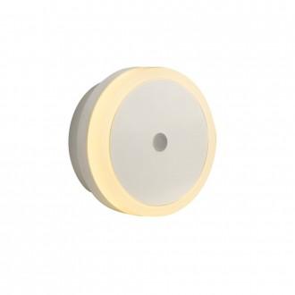 GLOBO 31938   Enio-II Globo noćno svjetlo svjetiljka svjetlosni senzor - sumračni prekidač utična svjetiljka 4x LED sivo, bijelo