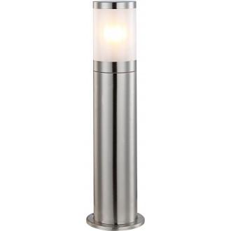 GLOBO 32015 | Xeloo Globo podna svjetiljka 50cm 1x E27 IP44 čelik, opal