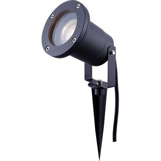 GLOBO 32076 | Style Globo ubodne svjetiljke svjetiljka elementi koji se mogu okretati 1x GU10 IP65 tamno siva