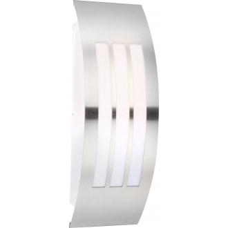 GLOBO 32094 | Cornus Globo zidna svjetiljka 1x E27 IP44 aluminij, opal