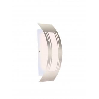 GLOBO 320940 | Cornus Globo zidna svjetiljka 1x E27 IP44 aluminij, opal