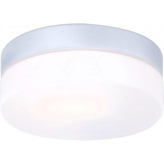 GLOBO 32111 | Vranos Globo stropne svjetiljke svjetiljka 1x E27 IP44 aluminij, opal