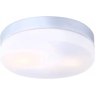 GLOBO 32112 | Vranos Globo stropne svjetiljke svjetiljka 2x E27 IP44 aluminij, opal