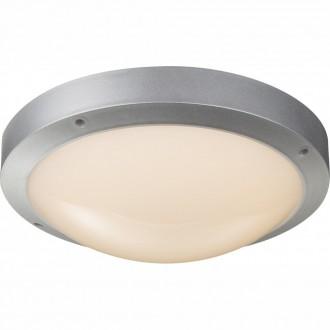 GLOBO 32145 | Maurus Globo stropne svjetiljke svjetiljka 1x LED 860lm 3000K IP44 sivo, opal