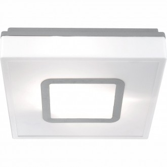 GLOBO 32212 | Lester Globo stropne svjetiljke svjetiljka za štednu žarulju 2x E27 IP44 bijelo, aluminij