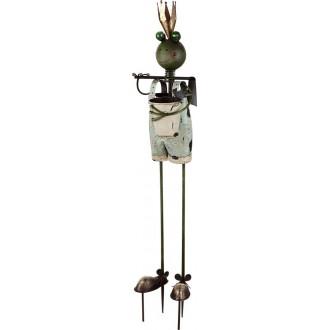 GLOBO 33455 | Solar-Frog2 Globo ubodne svjetiljke svjetiljka solarna baterija 2x LED IP44 višebojno
