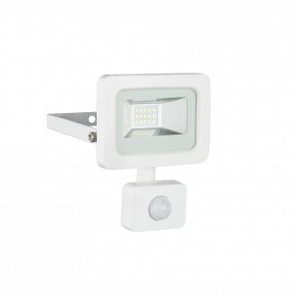 GLOBO 34002S | Callaqui Globo reflektor svjetiljka sa senzorom elementi koji se mogu okretati 1x LED 550lm 6000K IP44 bijelo, prozirno