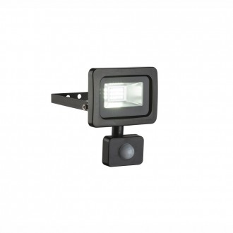 GLOBO 34003S | Callaqui Globo reflektor svjetiljka sa senzorom elementi koji se mogu okretati 1x LED 550lm 6000K IP44 crno, prozirno
