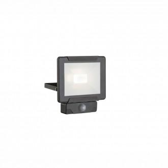 GLOBO 34010S | Urmia Globo reflektor svjetiljka sa senzorom elementi koji se mogu okretati 1x LED 1600lm 4000K IP44 crno