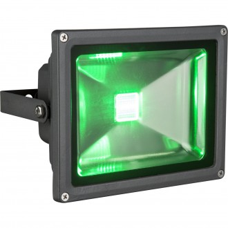 GLOBO 34119 | Radiator-V Globo reflektor svjetiljka daljinski upravljač promjenjive boje, elementi koji se mogu okretati 1x LED 1300lm RGBK IP65 crno, prozirno