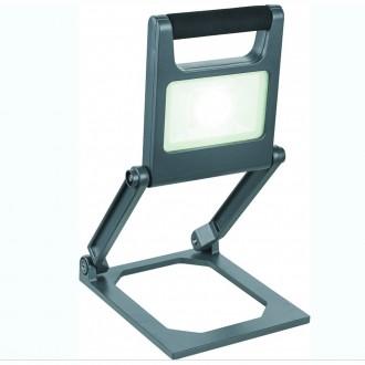 GLOBO 34149 | Tunga Globo nosiva svjetiljka s prekidačem jačina svjetlosti se može podešavati 1x LED 600lm 6500K IP44 crno