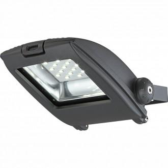 GLOBO 34218 | Projecteur-I Globo reflektor svjetiljka elementi koji se mogu okretati 1x LED 750lm 6500K IP65 tamno sivo, prozirno