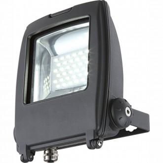 GLOBO 34219 | Projecteur-I Globo reflektor svjetiljka elementi koji se mogu okretati 1x LED 1500lm 6500K IP65 tamno sivo, prozirno