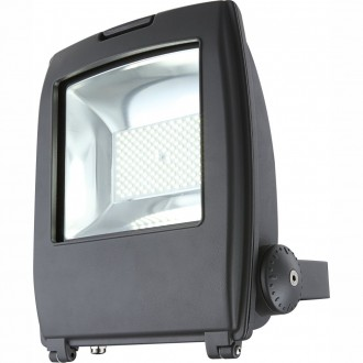 GLOBO 34221 | Projecteur-I Globo reflektor svjetiljka elementi koji se mogu okretati 1x LED 6000lm 6500K IP65 tamno sivo, prozirno