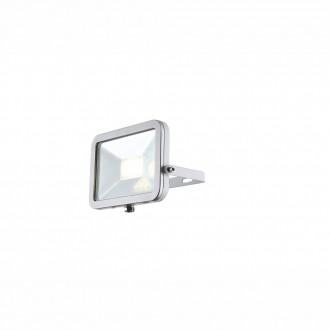 GLOBO 34223 | Projecteur-II Globo reflektor svjetiljka elementi koji se mogu okretati 1x LED 640lm 4000K IP65 bijelo, srebrno, prozirno