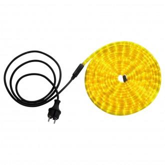 GLOBO 38965 | LightTube Globo svijetleća cijev svjetiljka 144x LED 87lm IP44 žuto